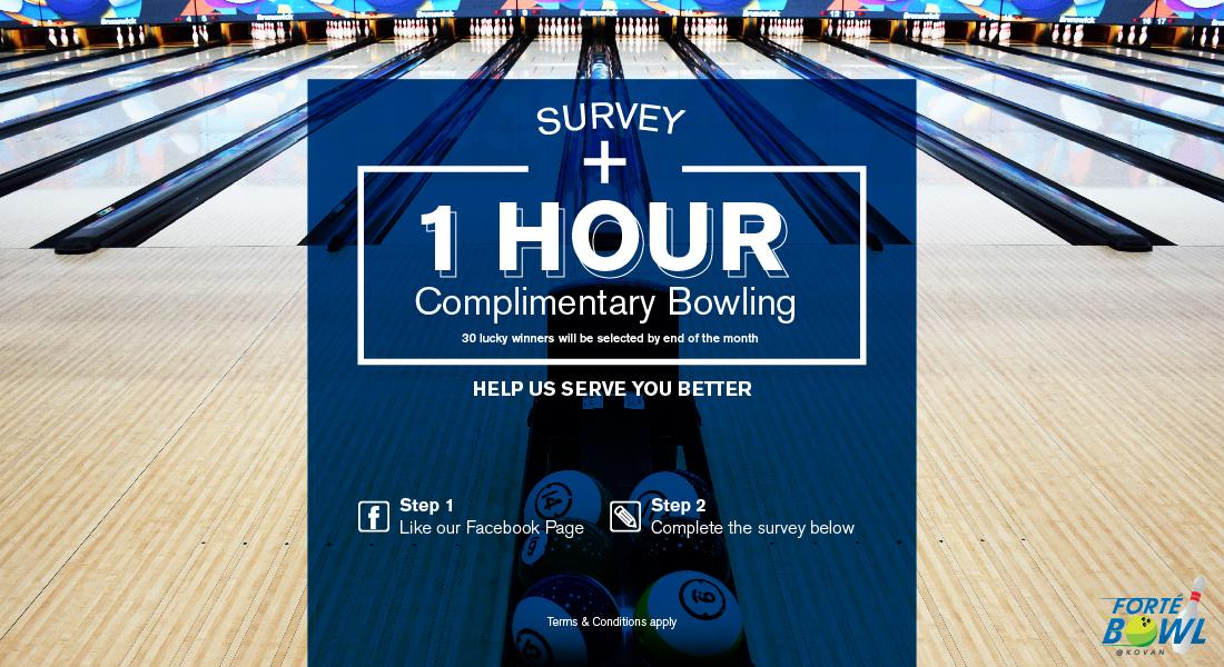 Survey Form – JForte Sportainment Centre