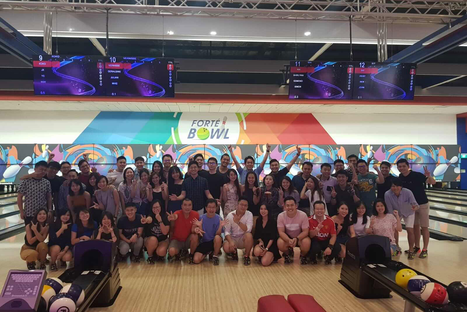 PULSEACTIV COMPANY BONDING BOWLING EVENT 2019