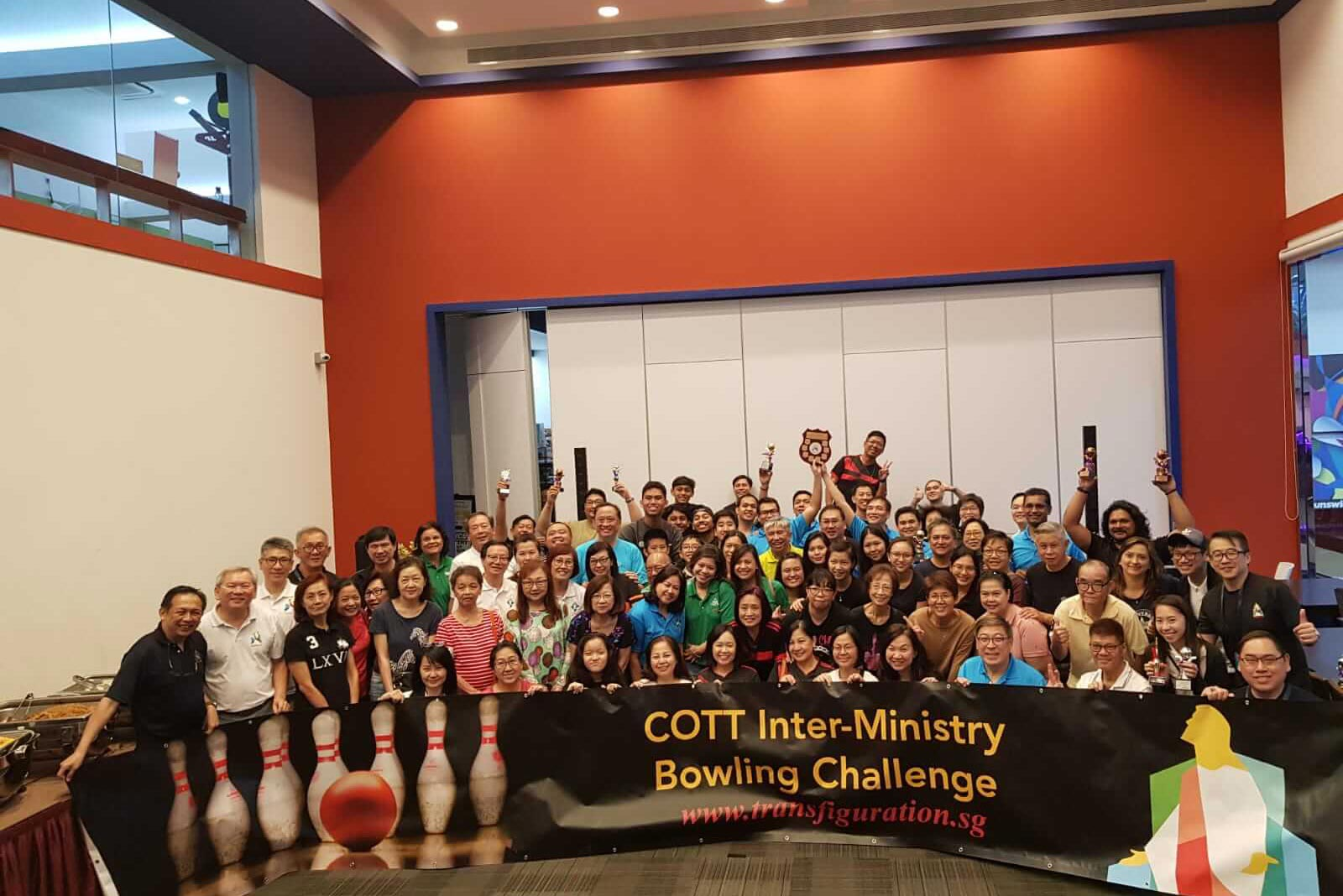 COTT INTER-MINISTRY BOWLING CHALLENGE 2019