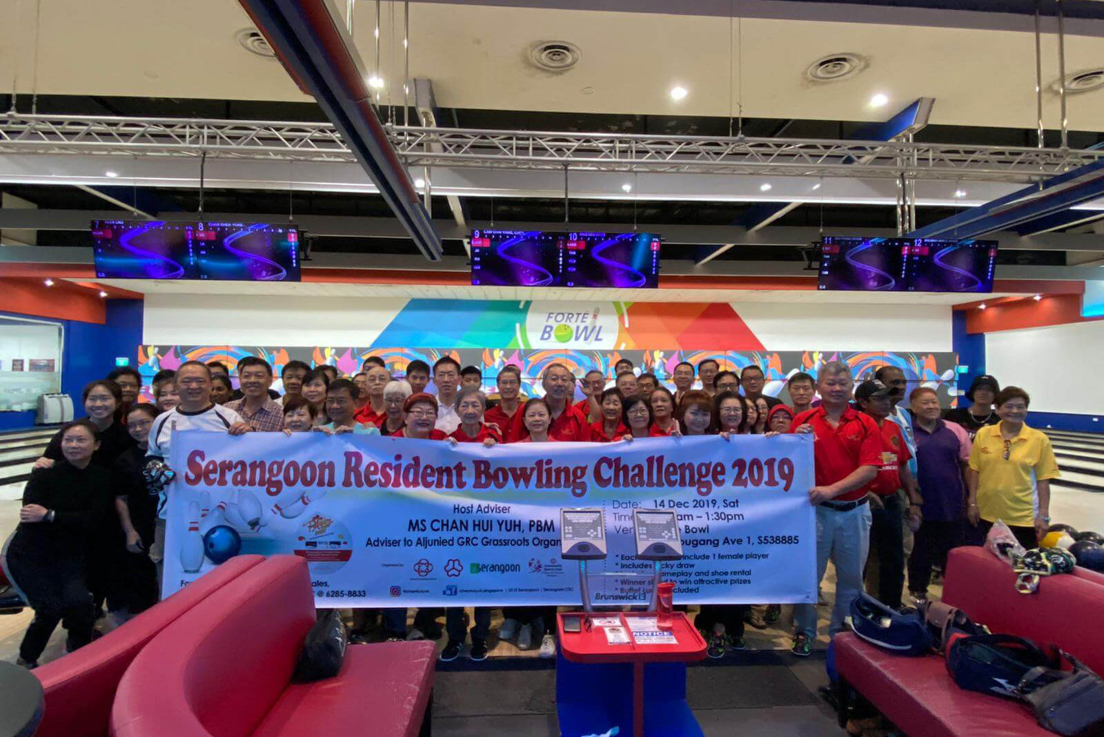 SERANGOON RESIDENTS BOWLING CHALLENGE 2019